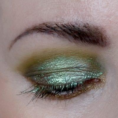 Swamp Green Eye Makeup