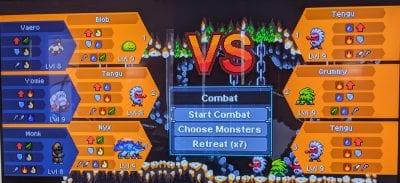 Monster Sanctuary Combat