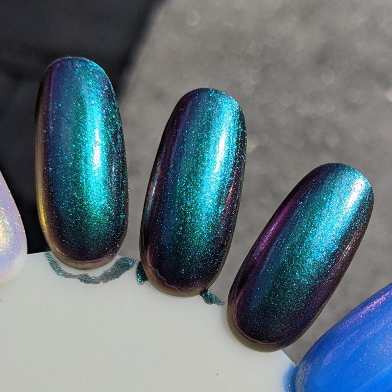 KBShimmer No Illusions nail polish swatch