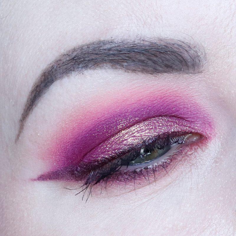 Bright Pink Eye Makeup