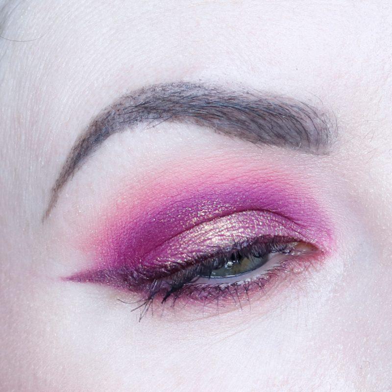 Bold Pink Makeup