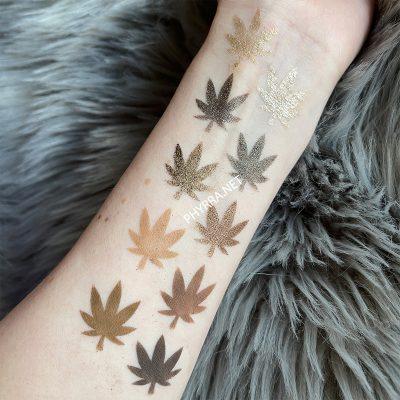 Melt MaryJane Palette Swatches Pale Skin