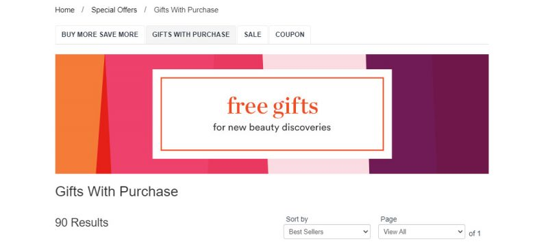 Free Gifts from Ulta