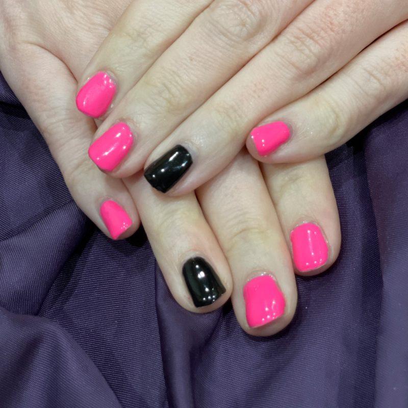 Madam Glam Bright Barbie Pink Nails