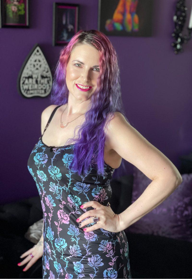 Pastel Goth Summer Dress