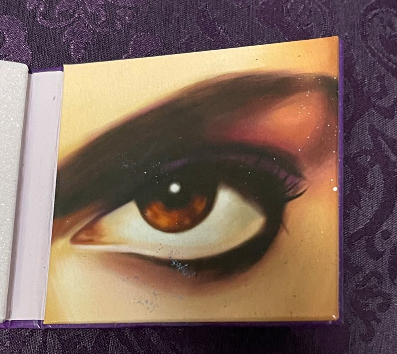 Prince's Eye on 1/3 of the palette