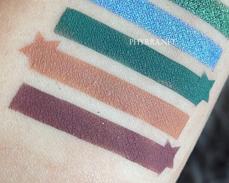 Sydney Grace Co Radiant Reflection Swatches on Light Skin