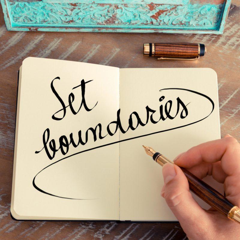 To Be Happier in Life, Set Boundaries