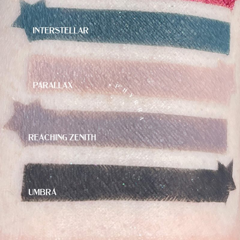 Sydney Grace Co Quintessence Palette Matte swatches