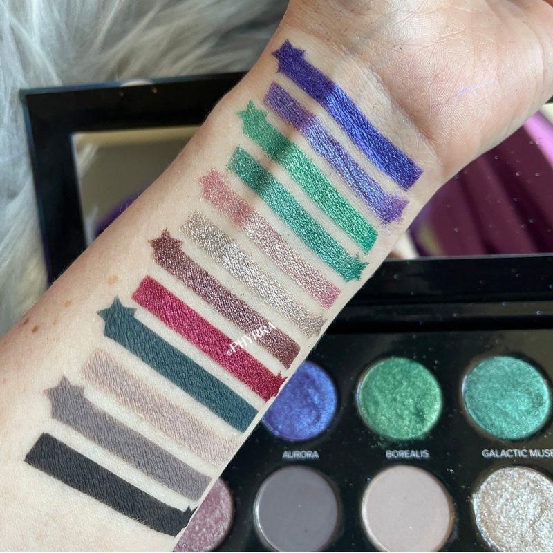 Sydney Grace Co Quintessence Palette Swatches Pale Skin