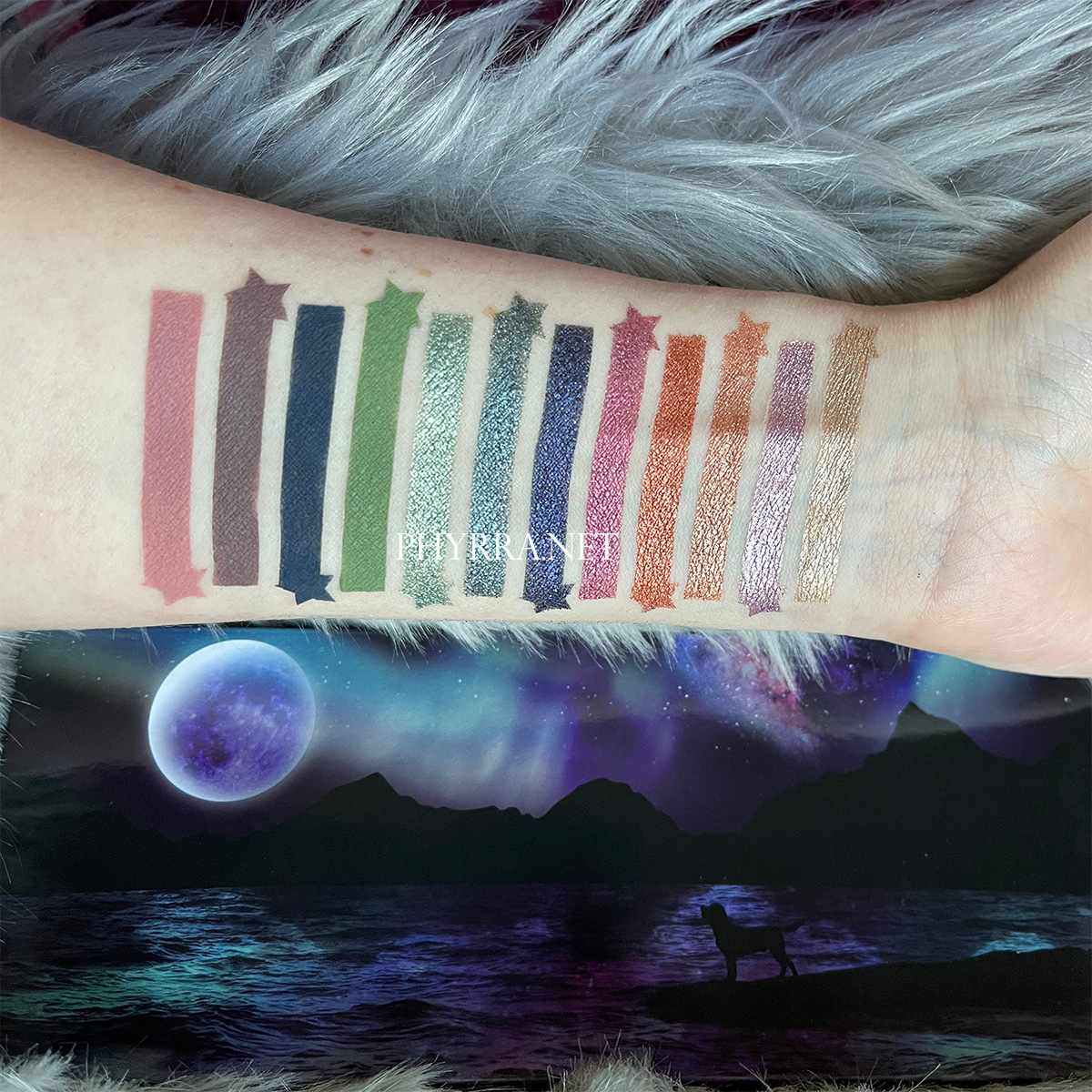 Sydney Grace Co Temptalia On the Horizon Palette Swatches on Light Skin