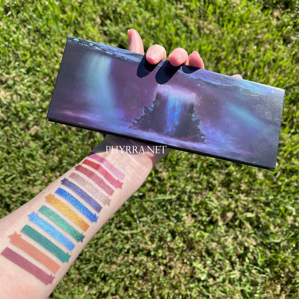 Sydney Grace Co Radiant Reflection Palette Swatches