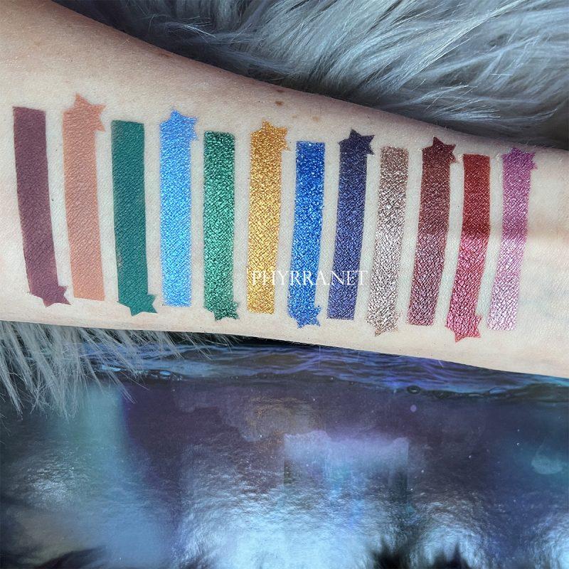 Temptalia Sydney Grace Co Radiant Reflection Swatches on Fair Skin