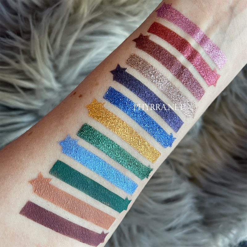 Sydney Grace Co Radiant Reflection Swatches on Pale Skin