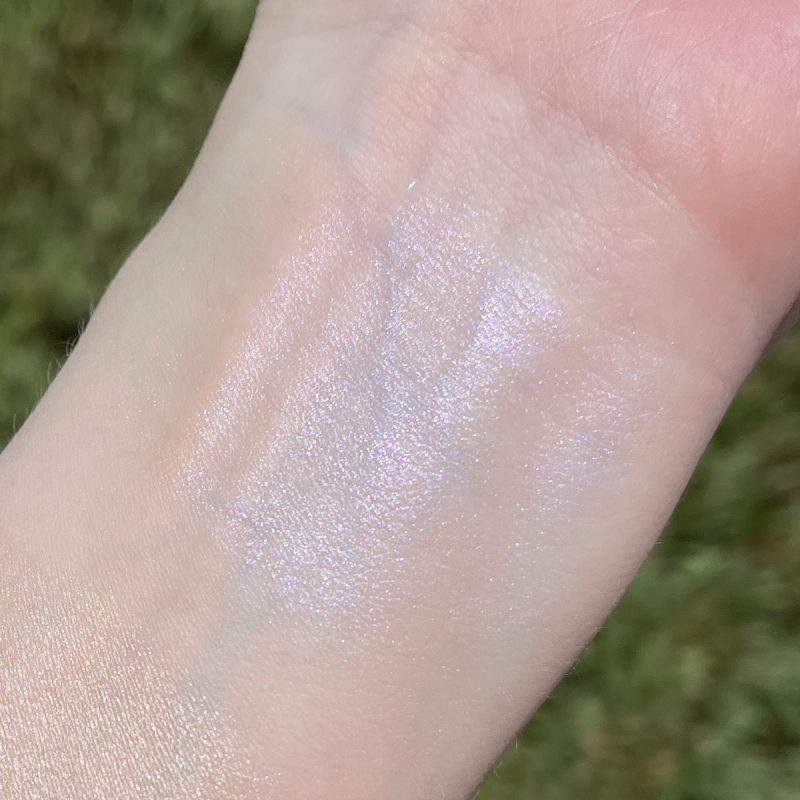 Lime Crime Wavy Skin Stick Swatched on fair skin
