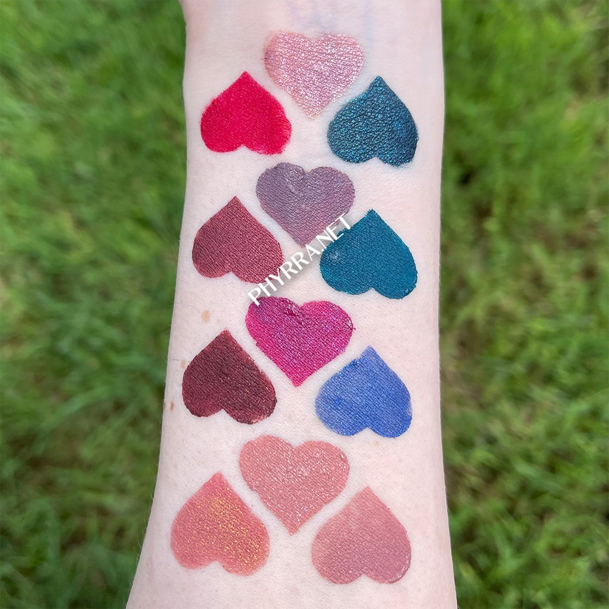 Fair Skin Sugarpill Liquid Lip Color Swatches